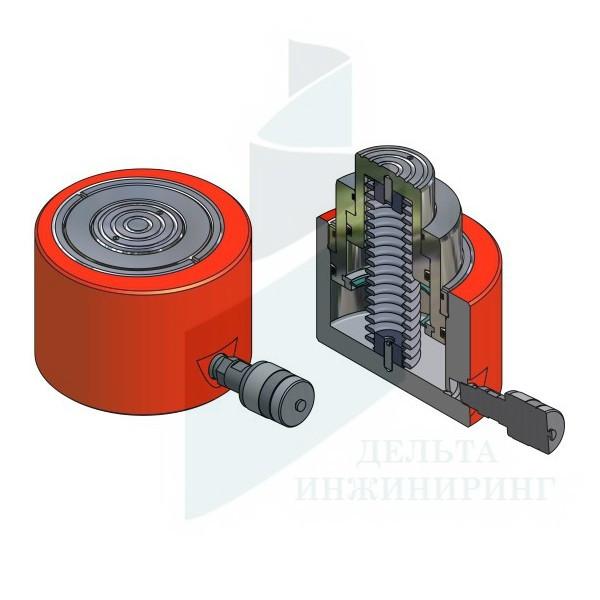 Домкрат гидравлический Энерпред ДН35П70Т