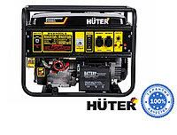Электрогенератор бензиновый HUTER DY6500LX 5 кВт электростартер