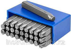 Клейма ЗУБР буквенные кириллица, шрифт 5мм, фото 2