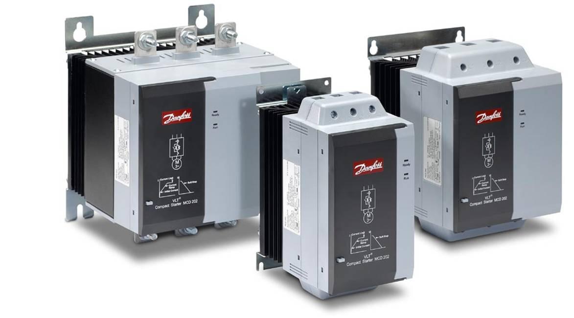 Устройство плавного пуска VLT® Compact Starter MCD 200/202
