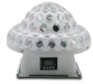 Daus LED BIG UFO Лазер со светодиодной подсветкой RGBY