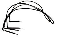 """КАПЕЛЬНИЦА-СТРЕЛКА В СБОРЕ (МИКРОТРУБКА + Г-образная СТРЕЛКА) из 4 стрелок """"паук"""""""