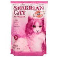 Наполнитель кошачьих туалетов Сибирская Кошка Элитный силикагелевый для привередливых кошек
