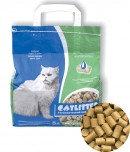 Наполнитель кошачьих туалетов CATLITTER (древесные гранулы 8-10мм)