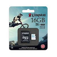 Карта памяти Kingston MicroSD 16GB Class 10 90 Mb/s, фото 1