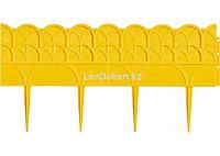 """Садовый бордюр """"Элегант"""" 14х310 см, желтый 65070 (002)"""