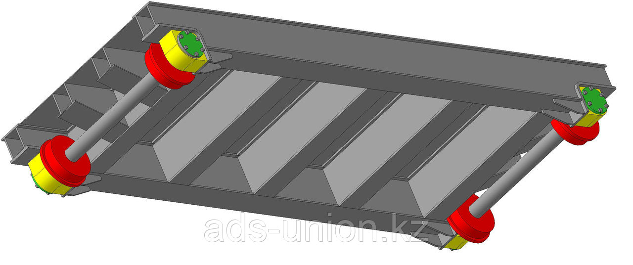 Тележка для биг-бегов 5 тонн (изготовление)