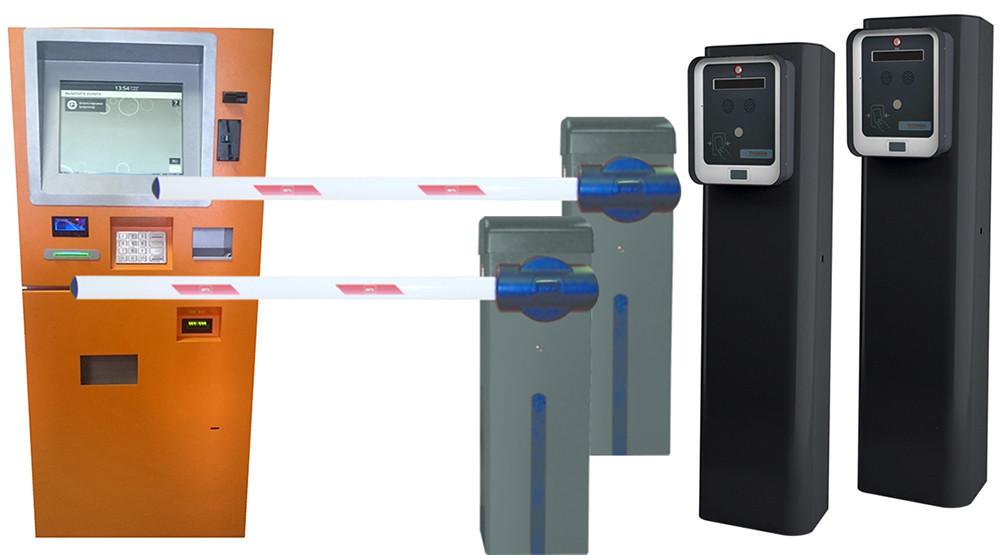 Оборудование для автоматизации платной парковки. Комплект парковки с терминалом оплаты - ESPAS 20 терминал