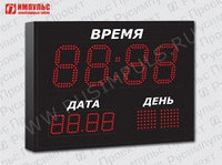 Часы-календарь Импульс-413К-1TD-2TD-3DN