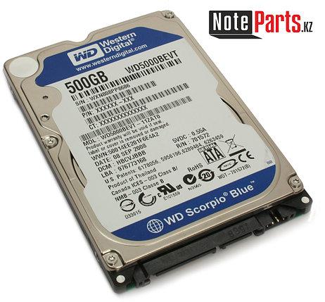 Жесткий диск для ноутбука 500Gb WD Blue 2.5'', 5400rpm,16Mb,SATA3,for Notebook, фото 2