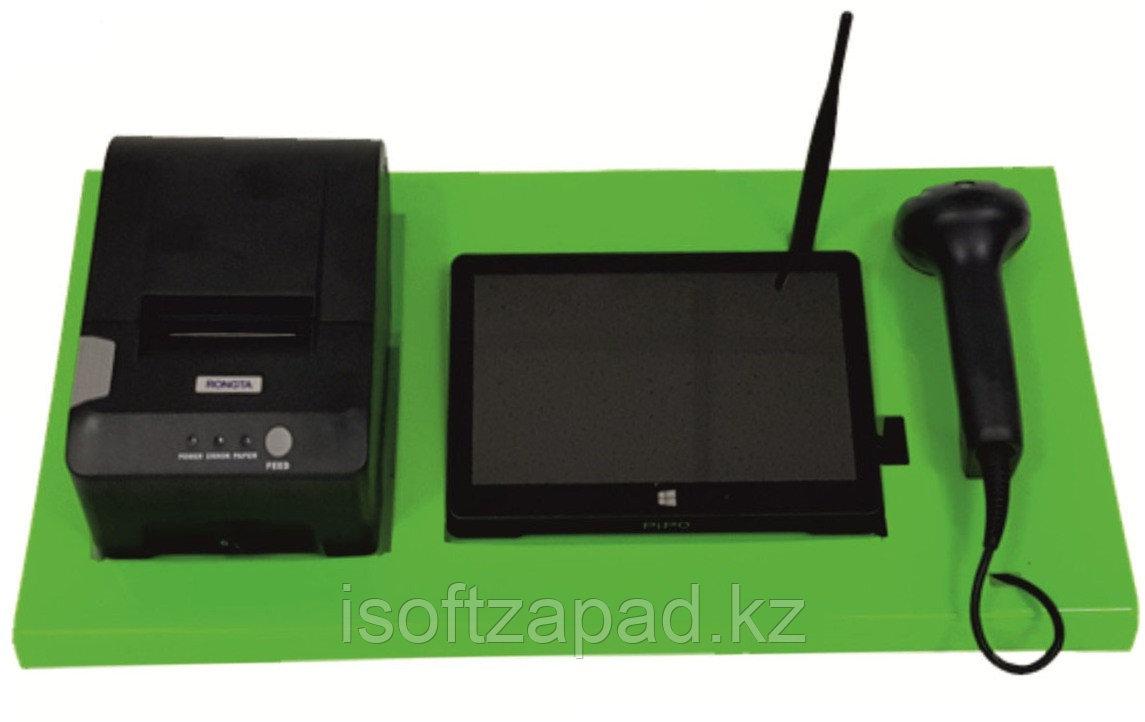 Автоматизация прилавочного магазина (моноблок Pipo, принтер, сканер, 1С Розница)