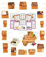 Игровой набор «Дары Фребеля» (14 коробок) с комплектом методических пособий (6 штук)