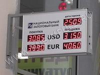 Офисные табло валют 4 разряда