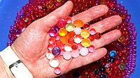 Разноцветные полимерные шарики (орбизы)