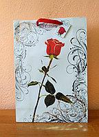 """Подарочный пакет """"Красная роза"""", фото 1"""