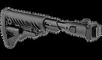 Fab defense Приклад телескопический, складной FAB-Defense M4-AKS P SB с амортизатором отдачи