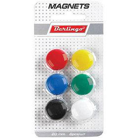 Магнит для досок 2 см, 6 шт, европодвес.