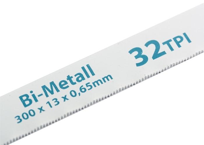 (77728) Полотна для ножовки по металлу, 300 мм, 32TPI, BiM, 2 шт.// GROSS