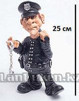 """Подарочная Статуэтка сувенир """"Полицейский"""" 25 см"""
