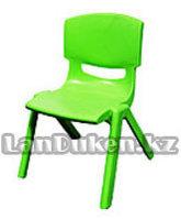 Детский стульчик 52 см (сидушка В27*Ш25) зеленый