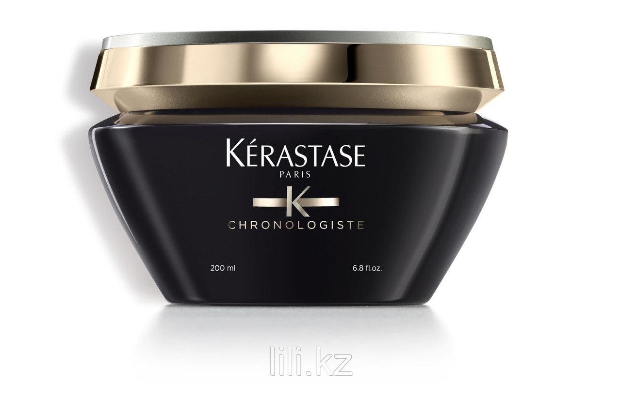 Ревитализирующая маска для всех типов волос Kerastase Chronologiste Masque 200 мл.