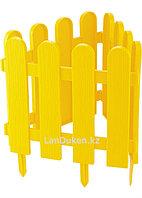 "Декоративный забор ""Кантри"" желтый 29х224 см PALISAD 65002 (002)"