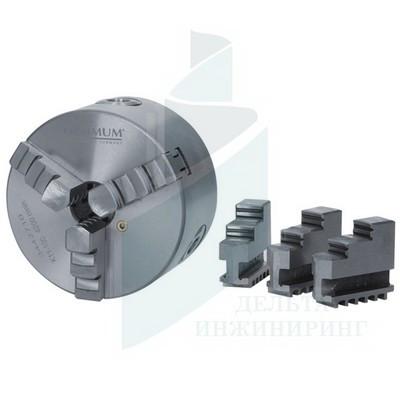 Трехкулачковый токарный патрон Optimum ø 100 мм