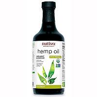 Nutiva, Органическое конопляное масло холодного отжима,  (473 мл)