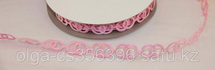 Декоративная лента 15 мм. Розовая.. Creativ 1510