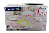 Столовый сервиз Luminarc Covent Garden Flore 45 предметов на 6 персон