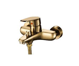 Смеситель для ванны бронзовый
