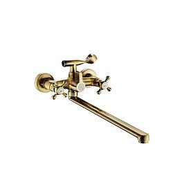 Смеситель для ванны бронза