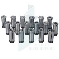 Набор цанг Optimum 5С 17 шт. 3-25 мм