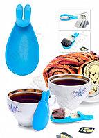 Держатель чайных пакетиков и ложки «КРОЛИК»