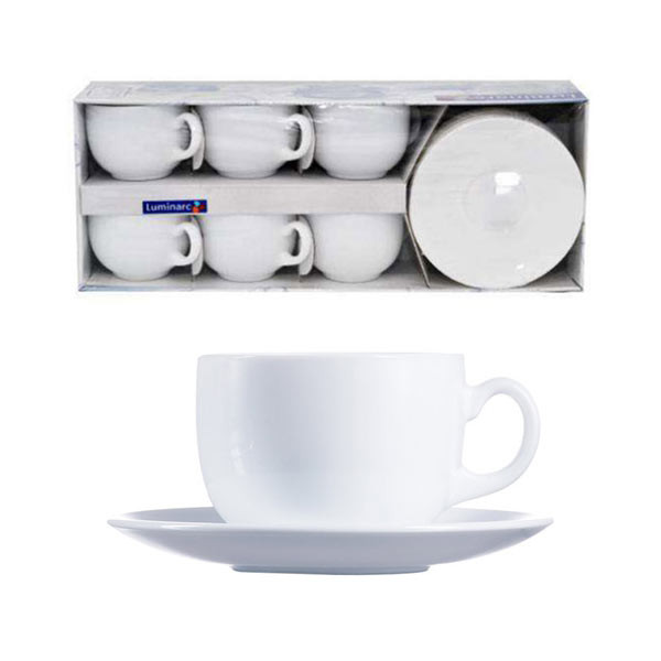 Чайный сервиз Luminarc Evolution 220 мл.на 6 персон (12 пр.) 63368