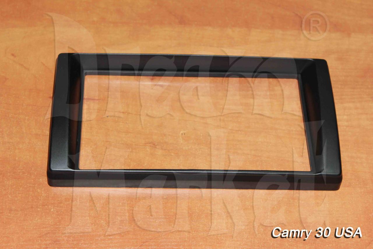 Переходная рамка Toyota Camry 30-35 USA, 2DIN, пластик, черный