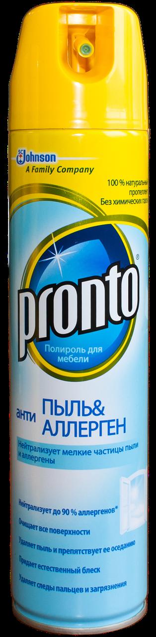 Полироль для мебели Пронто - Pronto Антипыль аэрозоль 250мл
