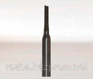 Фреза прямая для ЧПУ 2мм