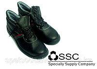 Спецобувь в Астане. Ботинки рабочие с защитным подноском.
