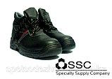 Спецобувь в Астане. Ботинки рабочие с защитным подноском., фото 4