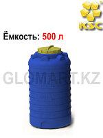 Бак для воды и топлива, 500 л