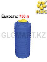 Цилиндрическая емкость, 750 л