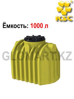 Бак для хранение воды и топливо на 1000 л (с ребром жесткости)