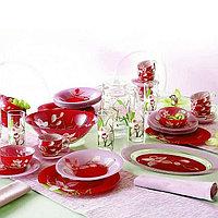 Столовый сервиз Luminarc Red Orchis 52 предметов на 6 персон