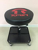 Стул автослесаря регулируемый (с инструментальной полкой) TR6201 TORIN