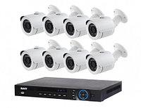 Готовый комлект видеонаблюдения на 8 уличных камер, фото 1