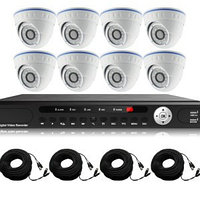 Готовый комлект видеонаблюдения из 8 внутренних камер, фото 1