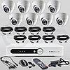 Готовый комплект видеонаблюдения на 8 камер