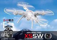 Радиуправляемый квадрокоптер SYMA X5 SW
