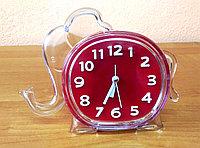 """Детские часы-будильник  """"Слон"""", красный, фото 1"""